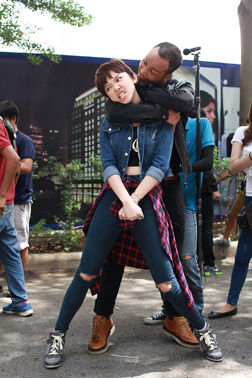 toc tien gay an tuong khi tham gia phim dien anh - 2