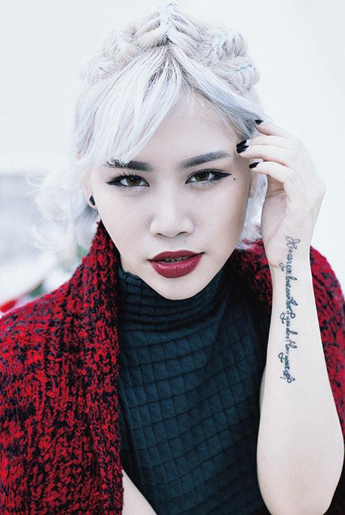 """huong giang idol tinh tu """"hot boy sau mui"""" mua noel - 10"""