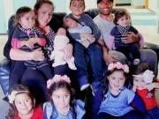 Sau sinh - Ngỡ ngàng bà mẹ sinh 4 cặp song thai trong 5 năm liền