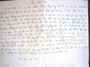 Tin hot - Nữ sinh lớp 11 tự tử để lại 5 bức thư tuyệt mệnh