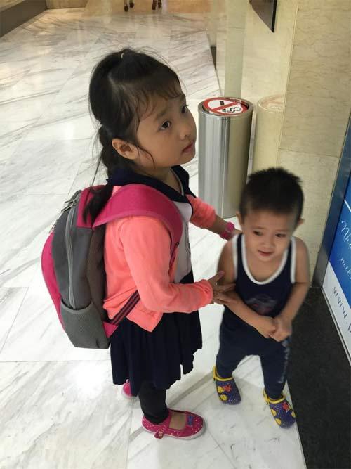duong yen ngoc hanh phuc duoc gap con sau 5 thang xa cach - 2