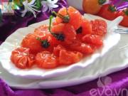 Thực đơn – Công thức - Cách làm mứt cà chua bi dẻo ngon, thơm ngọt