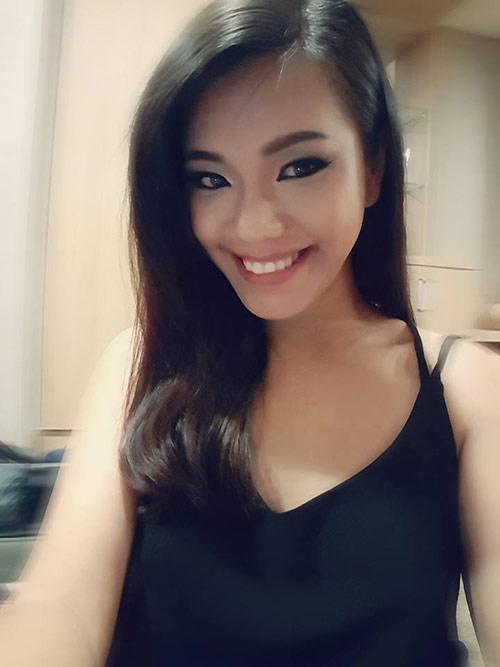 phuong vy idol ven ao khoe bung bau dang yeu - 2