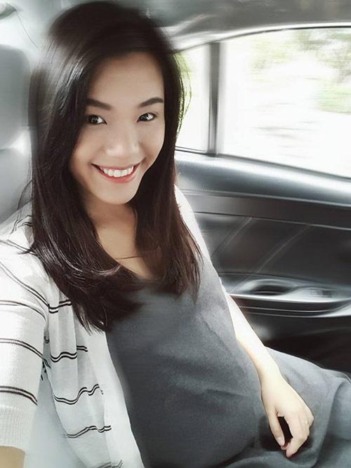 phuong vy idol ven ao khoe bung bau dang yeu - 4