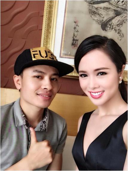 makeup hoang hien– nguoi dung sau hau truong lam dep cho sao - 3