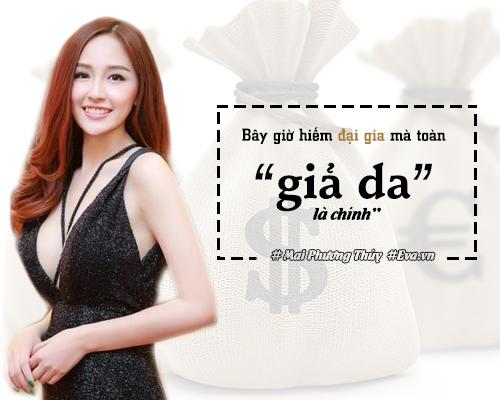 """ban tron showbiz: my nhan viet nghi gi ve dai gia va nhung anh chang """"gia da""""? - 3"""