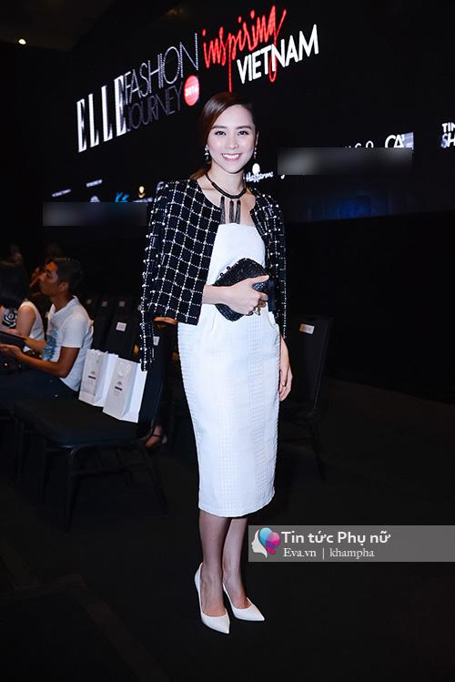 tham do elle show: ban gai cuong do la kin bung van lan at cac sao viet - 6