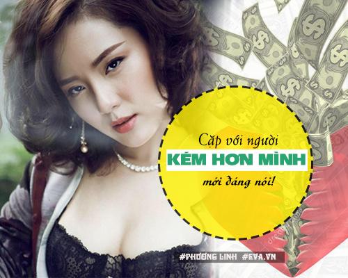 """ban tron showbiz: my nhan viet nghi gi ve dai gia va nhung anh chang """"gia da""""? - 16"""