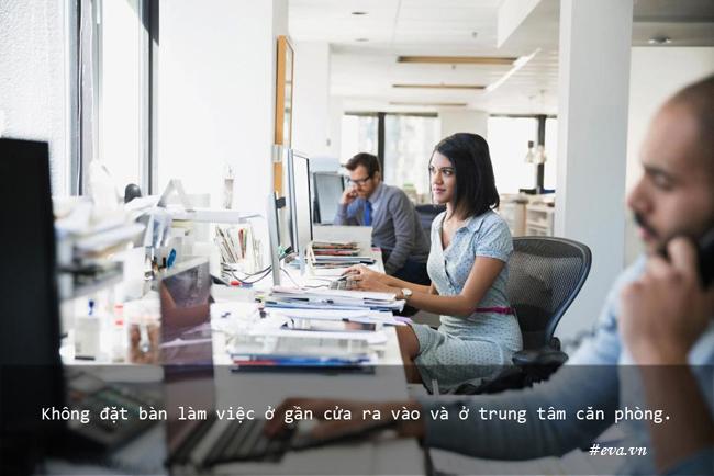 Bài trí bàn làm việc cho sự nghiệp hanh thông thuận lợi