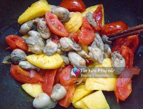 Canh riêu hàu chua chua, béo ngậy đầy bổ dưỡng-4