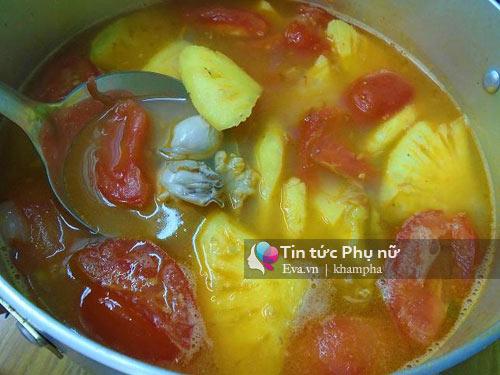Canh riêu hàu chua chua, béo ngậy đầy bổ dưỡng-5