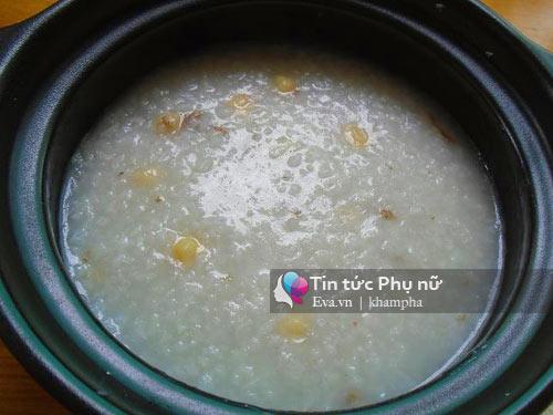 Cháo hàu hạt sen bổ dưỡng cho ngày mới-3