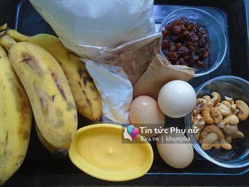 Bánh mì chuối thơm ngon, đủ dưỡng chất cho bữa sáng-1