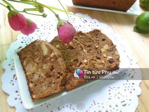 Bánh mì chuối thơm ngon, đủ dưỡng chất cho bữa sáng-10