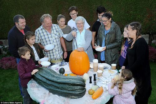 Choáng váng cụ ông 67 tuổi trồng rau củ quả to hơn cả cháu - 9