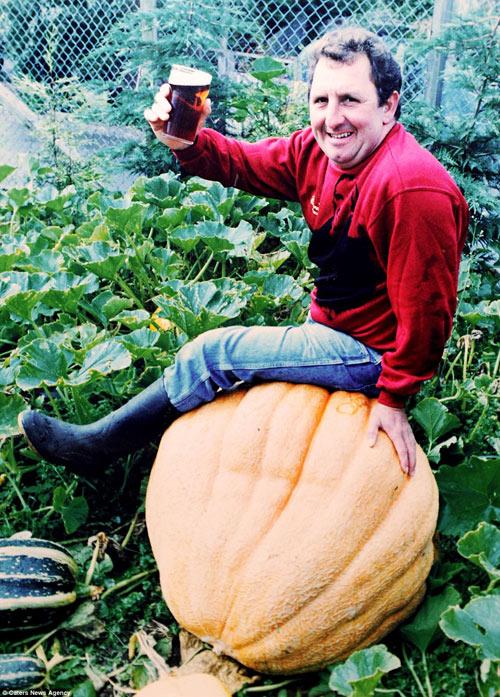 Choáng váng cụ ông 67 tuổi trồng rau củ quả to hơn cả cháu - 8