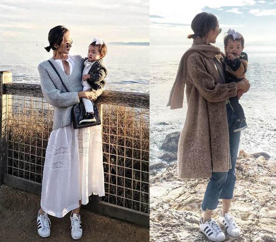 Không bàn cãi nữa, đây chính là cặp mẹ con mặc đẹp nhất nhì làng thời trang - 13