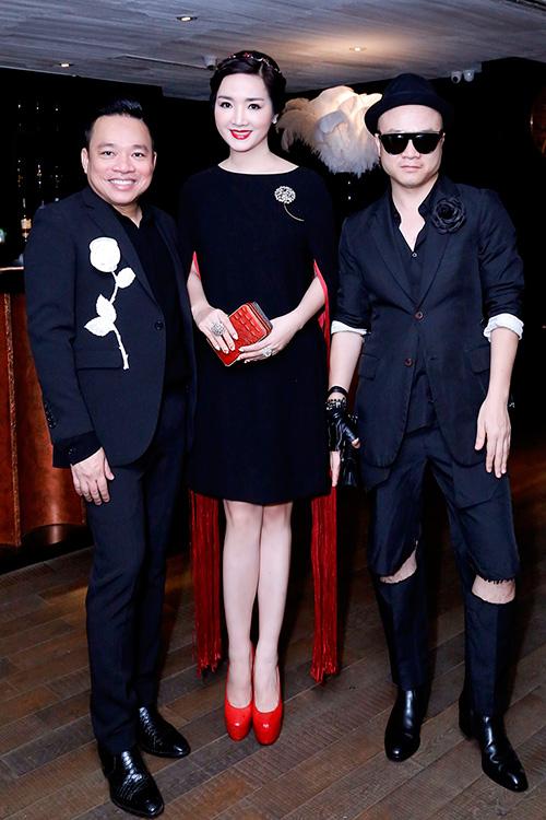 Hoa hậu Giáng My đẹp kiêu sa đọ sắc cùng Đặng Thu Thảo-4
