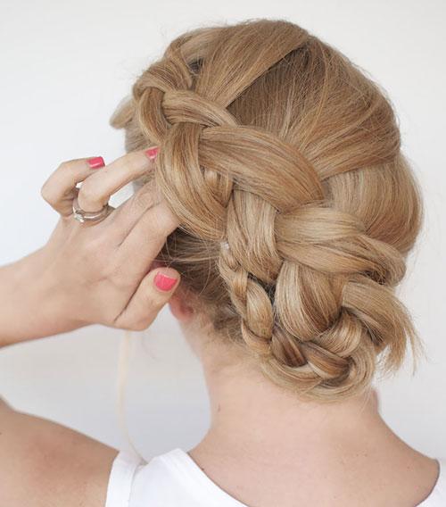 Là con gái nhất định phải một lần thử những kiểu tết tóc này - 3