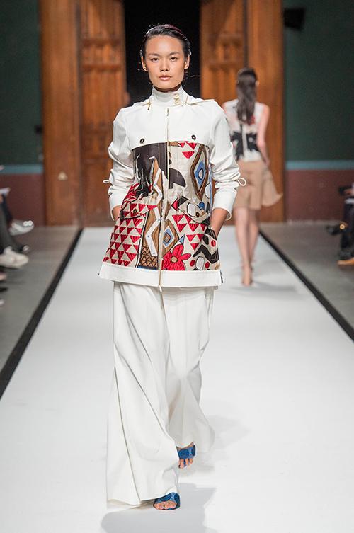 le thanh thao trung 2 show tai paris fashion week - 8
