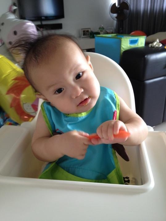 Cách nấu cháo cá hồi, thịt lợn cho trẻ thông minh, khỏe mạnh-5