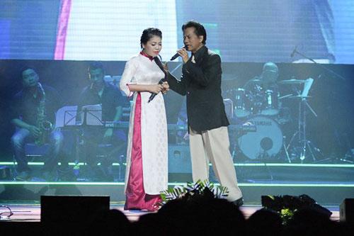Anh Thơ nể phục Chế Linh vì hơn 70 tuổi vẫn hát live quá tốt-1