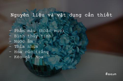 bi quyet nhuom mau cho hoa cuc trang cuc nhanh - 2