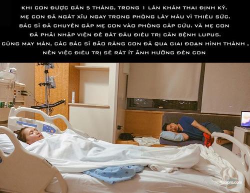 Chấp nhận căn bệnh có thể tàn phá nội tạng, mẹ Việt vẫn quyết sinh con - 10