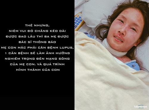 Chấp nhận căn bệnh có thể tàn phá nội tạng, mẹ Việt vẫn quyết sinh con - 3