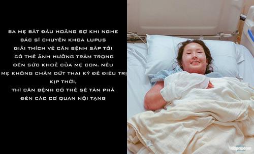 Chấp nhận căn bệnh có thể tàn phá nội tạng, mẹ Việt vẫn quyết sinh con - 5