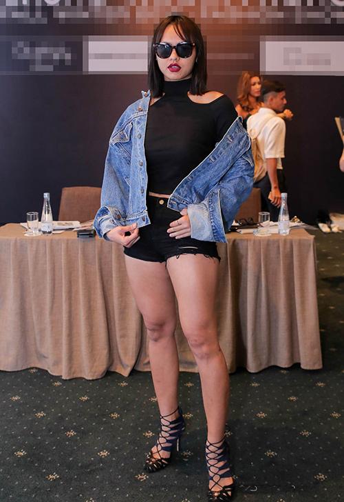 Mặc đùi to, Mai Ngô vẫn diện quần ngắn cũn cỡn - 2