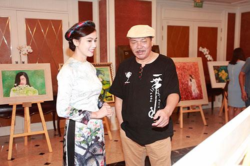 Nhạc sĩ  Trần Tiến, Trung Hiếu trẻ trung đến chúc mừng Lương Giang-6