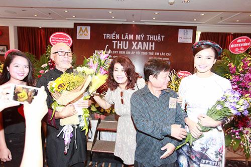 Nhạc sĩ  Trần Tiến, Trung Hiếu trẻ trung đến chúc mừng Lương Giang-8