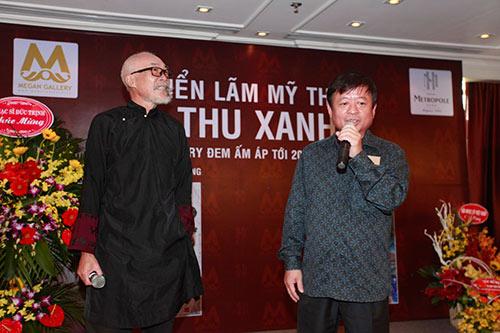 Nhạc sĩ  Trần Tiến, Trung Hiếu trẻ trung đến chúc mừng Lương Giang-9