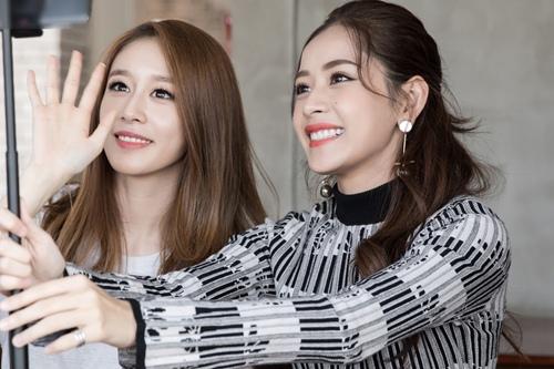 Ji-yeon (T-ara) ôm ấp Chi Pu và muốn đóng phim tại Việt Nam-3