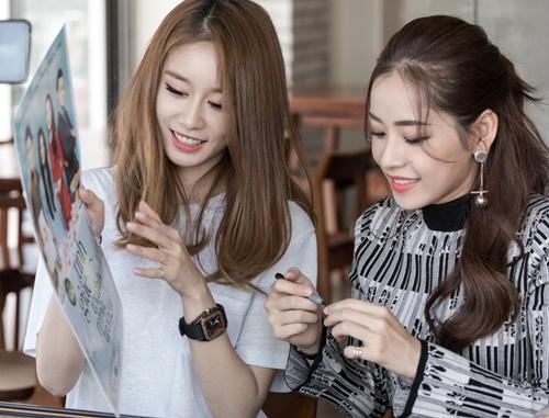 Ji-yeon (T-ara) ôm ấp Chi Pu và muốn đóng phim tại Việt Nam-6