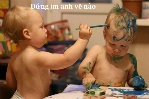 """nhung tinh huong hai huoc """"kho do"""" cua bon con nit khien me khong the gian - 7"""