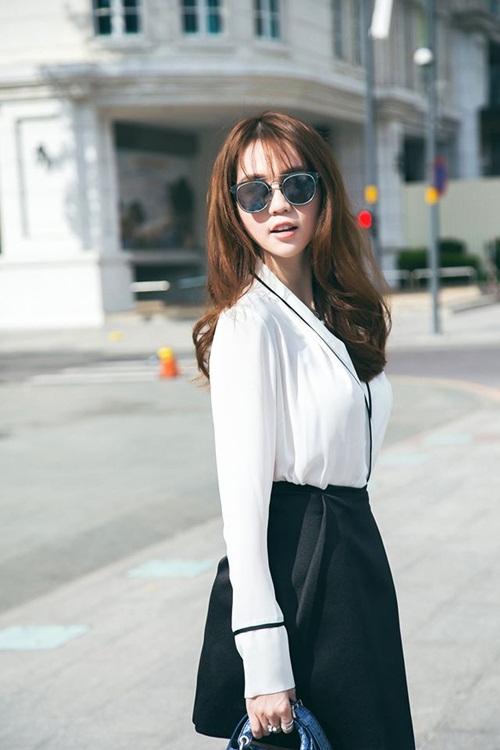 ngoc trinh hao huc tham du chung ket hoa hau han quoc 2016 - 1