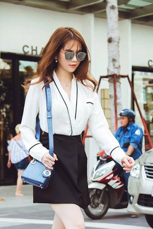 ngoc trinh hao huc tham du chung ket hoa hau han quoc 2016 - 6