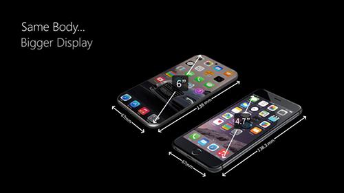 iphone 8 man hinh 4k, kich thuoc sieu mong - 4