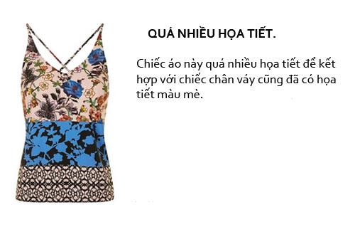 thu tai phoi do: mau ao nao co the ket doi cung chiec chan vay nay? - 1