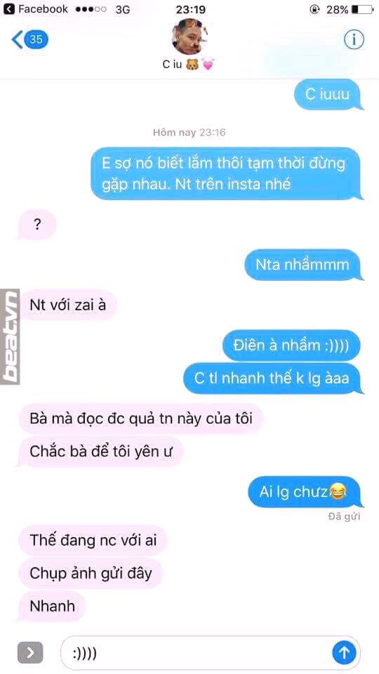 "trao luu hot nhat fb, thu long bang tin nhan ""em so chong biet lam"" - 4"