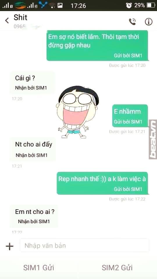 "trao luu hot nhat fb, thu long bang tin nhan ""em so chong biet lam"" - 5"