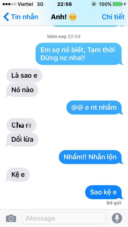 "trao luu hot nhat fb, thu long bang tin nhan ""em so chong biet lam"" - 2"