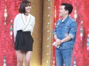 Làng sao - Ca sĩ giấu mặt: Trường Giang tranh thủ nịnh bạn gái Nhã Phương trên truyền hình