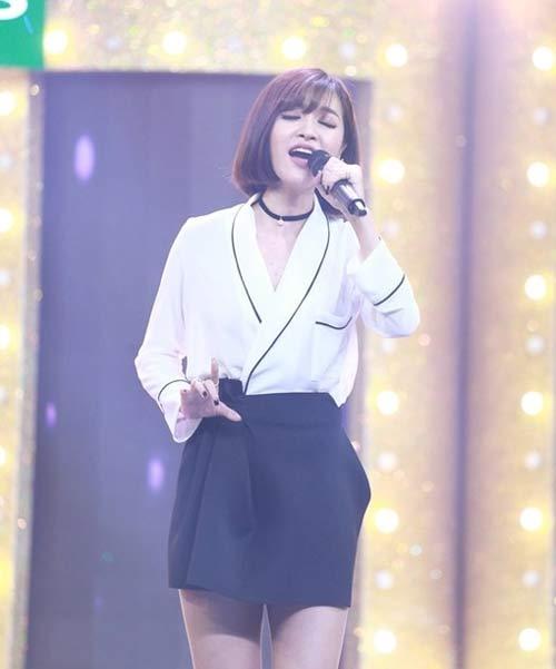 """tv show: viet huong muon lam """"thiep"""" cua mr dam; truong giang """"tranh thu"""" ninh nha phuong - 5"""
