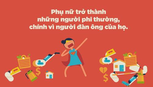 ngay 20-10: day la clip chung minh 'phu nu chinh la sieu nhan' - 2