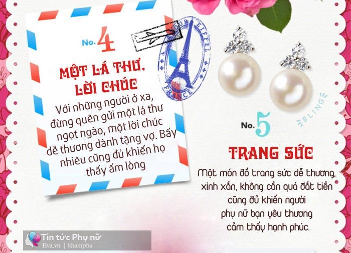 tiet lo nhung mon qua moi phu nu deu khao khat trong ngay 20/10 - 5