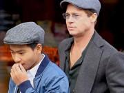 Làng sao - Con trai Maddox chấp nhận gặp Brad Pitt lần đầu tiên sau cáo buộc bị bố bạo hành