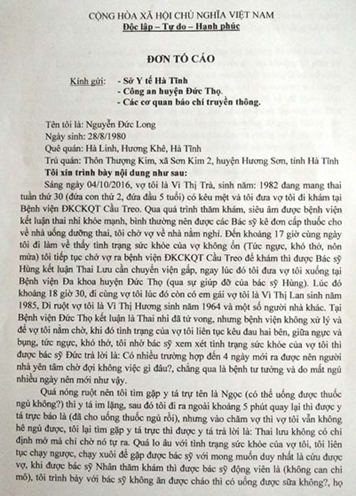 san phu tu vong voi manh xuong trong tu cung: cong an vao cuoc - 2